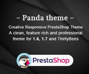 Banner afiliación Plantilla Panda Prestashop